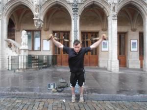 Benjamin Pénard - Interval Training - Bruxelles - Perte de poids - Workout - Haute intensité