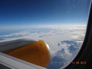 Vue sur le Groenland