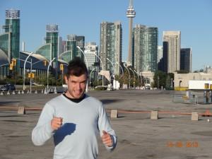 Ravi d'être à Toronto ;)