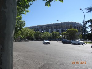 Santiago Bernabeu - Real Madrid's Stadium