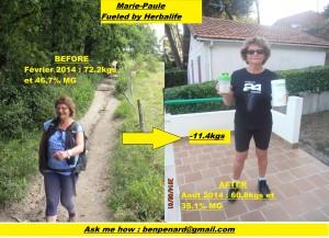 Avant/Après Marie-Paule