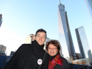 Avec ma mère à New York, avant la transformation