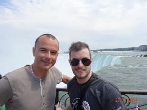 Mon frère Cédric et moi-même