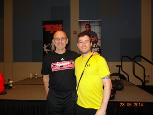 Mike Boyle et moi-même