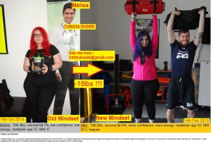 Before-After Melisa Paksoy Herbalife