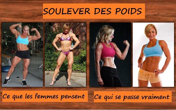 Prise de muscle chez les filles